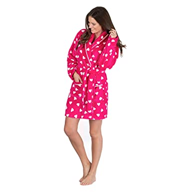 1cd71feb5 Forever Dreaming Women s Fluffy Snuggle Fleece Dressing Gown ...