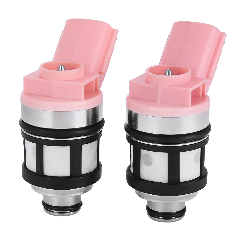 Mophorn Set Of 4 Flow Matched Fuel Injectors Low Impedance 1000cc Fuel Injectors Fit for Honda B16 B18 B20 D16 D18 F22 H22 H22A VTEC