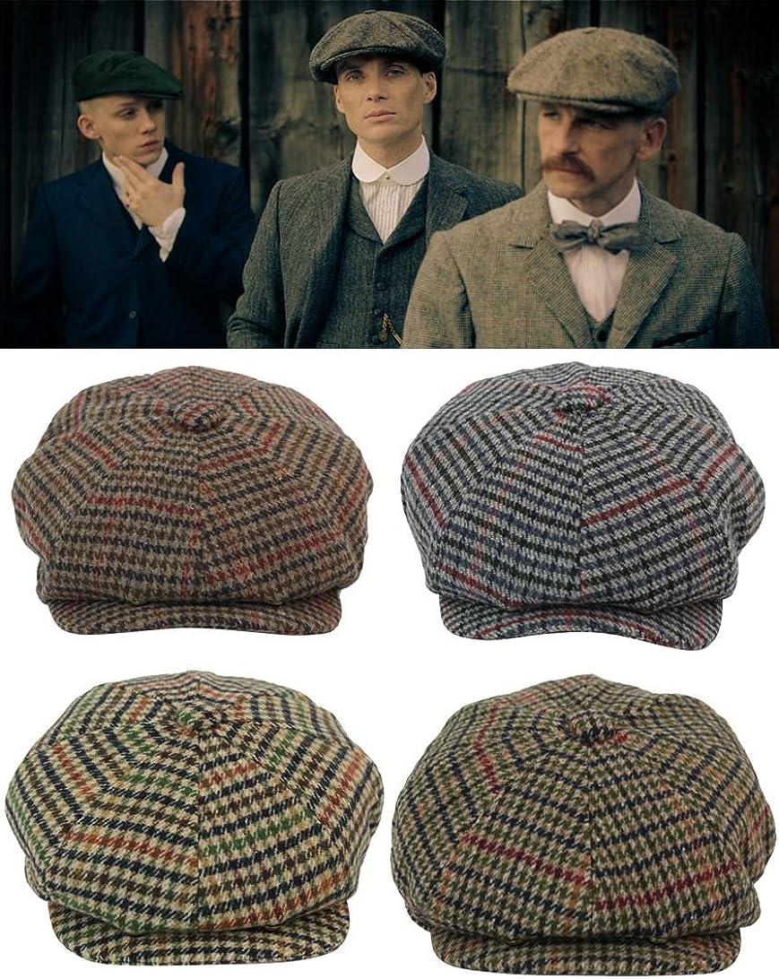 Herrenm/ütze Tweed Design Peaky Blinders Stil Kariert Preis Angebot