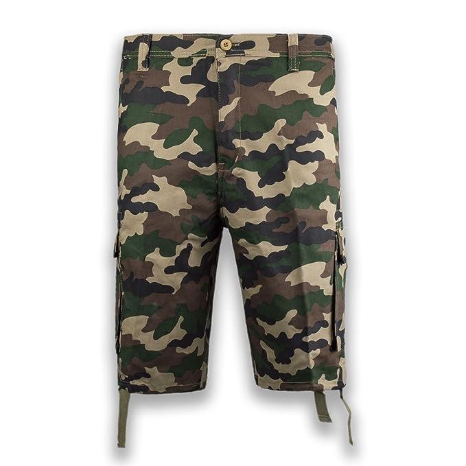 Amazon.com: NUEVO Ejército Hombres Cargo Shorts Inferior ...