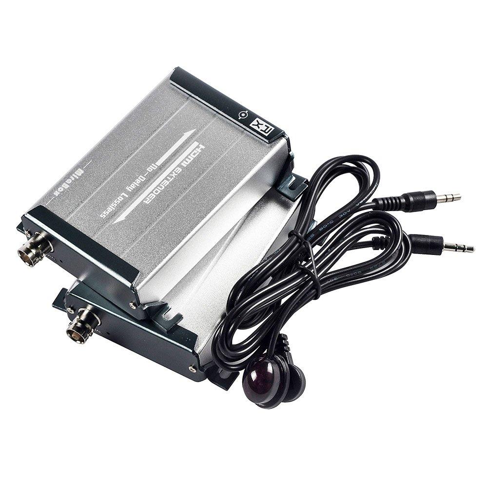 MiraBox HDMI Extender über Koaxialkabel mit IR: Amazon.de: Elektronik