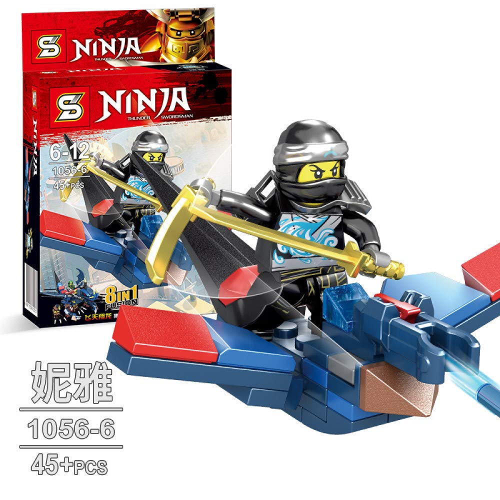 QAQW Niños Armados Ninja Warrior Armas Doll City Police ...