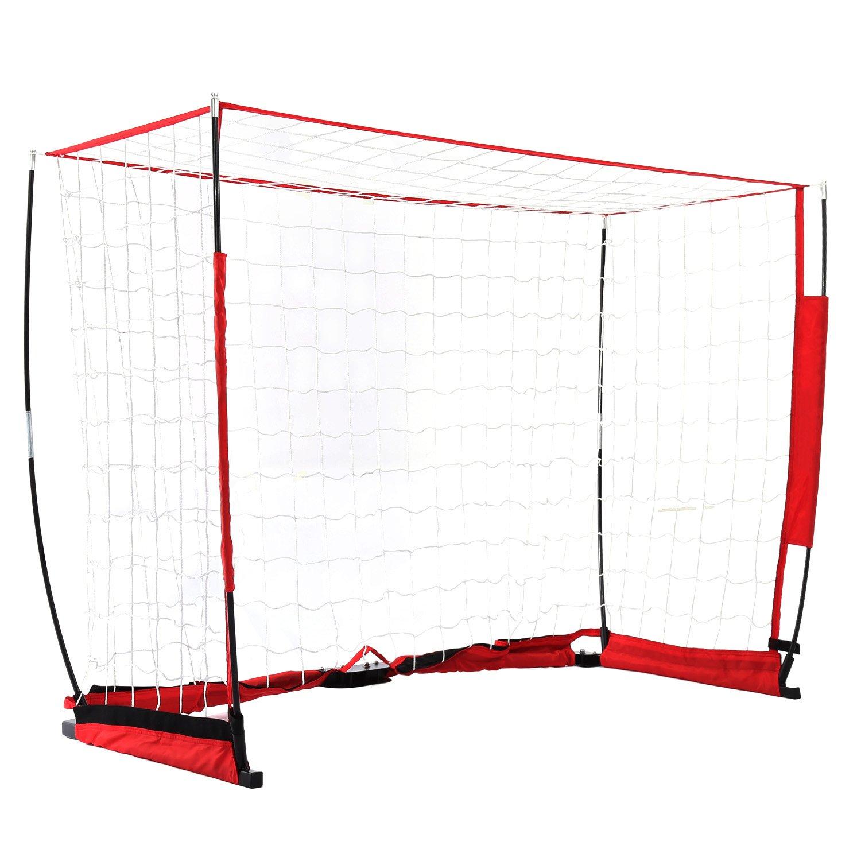 YUEBO Faltbar Fussballtor mit Netz für Kinder/Erwachsene für Innen ...