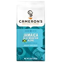 Deals on Camerons Coffee Roasted Ground Coffee Bag Jamaican Blue 10-Oz