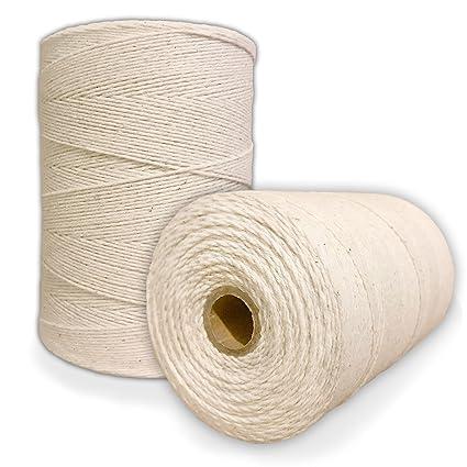 Amazon.com: Durable Loom Warp Thread (Natural/Off White), 8/4 Warp ...
