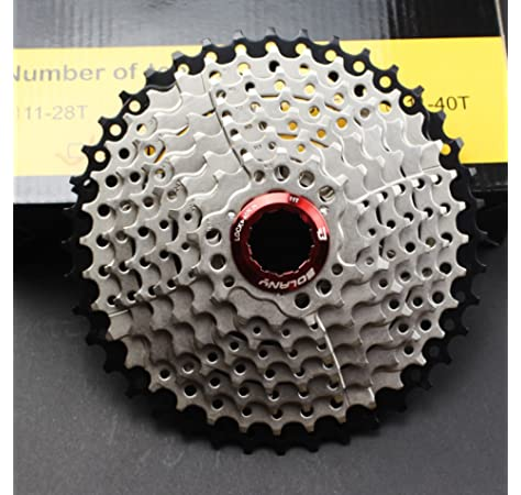 8//9 Speed 11-40T MTB Bike Cassette Cassettes Chain Cogs Fit Shimano SRAM KMC
