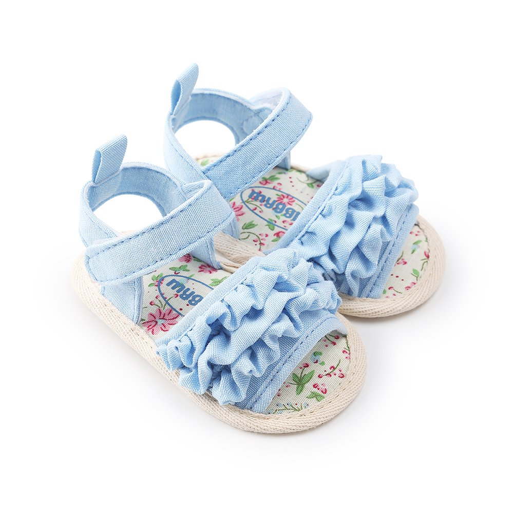 Academyus Lovely Infant Baby Girls Soft Sole Princess Sandals Prewalker Toddler Shoes