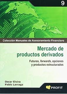 Mercado de productos derivados: Futuros, forwards, opciones y productos estructurados