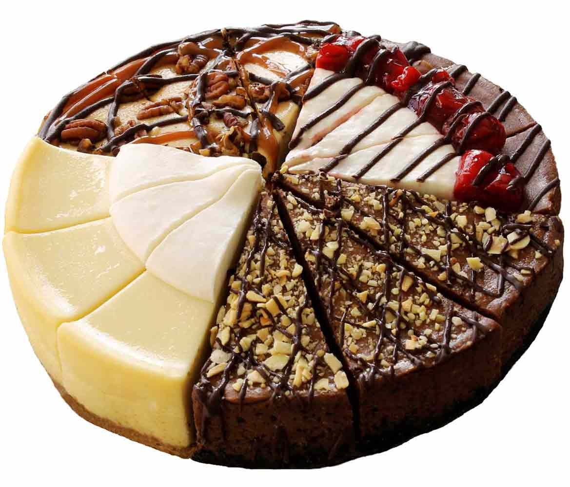 Suzys FourFlavor Cheesecake Gift Sampler Amazoncom Grocery