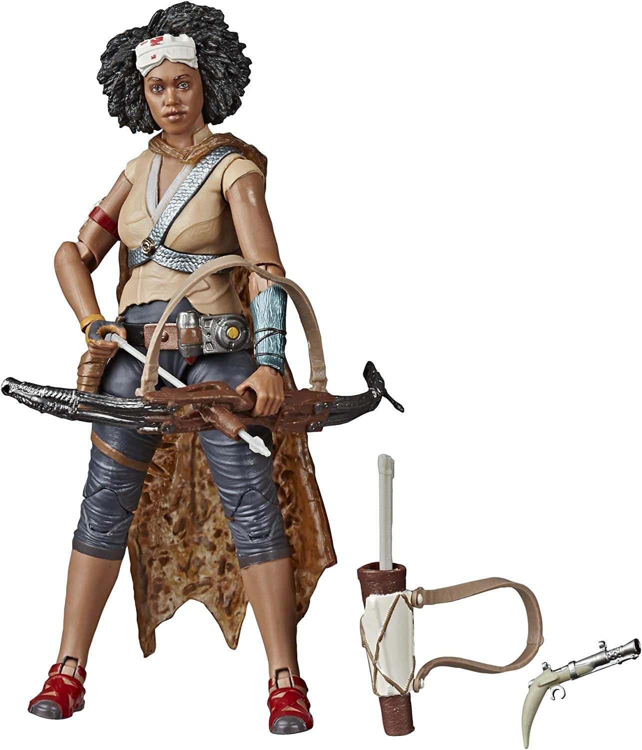 Toys for Kids Ages 4 /& Up Star Wars The Black Series Jannah Toy 6 Scale The Rise of Skywalker Collectible Action Figure
