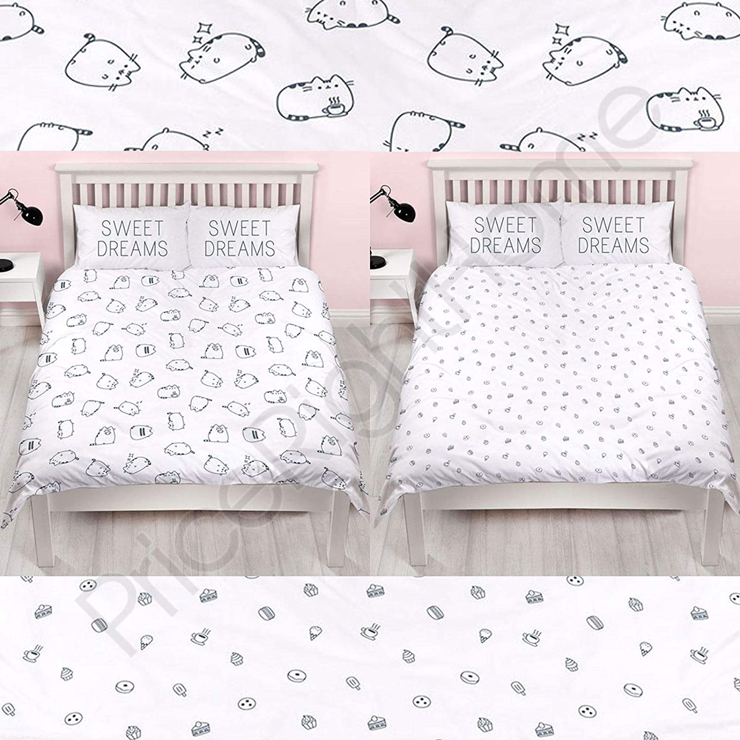 Buy Pusheen Sweet Dreams Design Duvet Cover Reversible Two Sided Official Bedding Duvet Cover With Matching Pillow Case Uk Double Us Full Online At Low Prices In India Amazon In