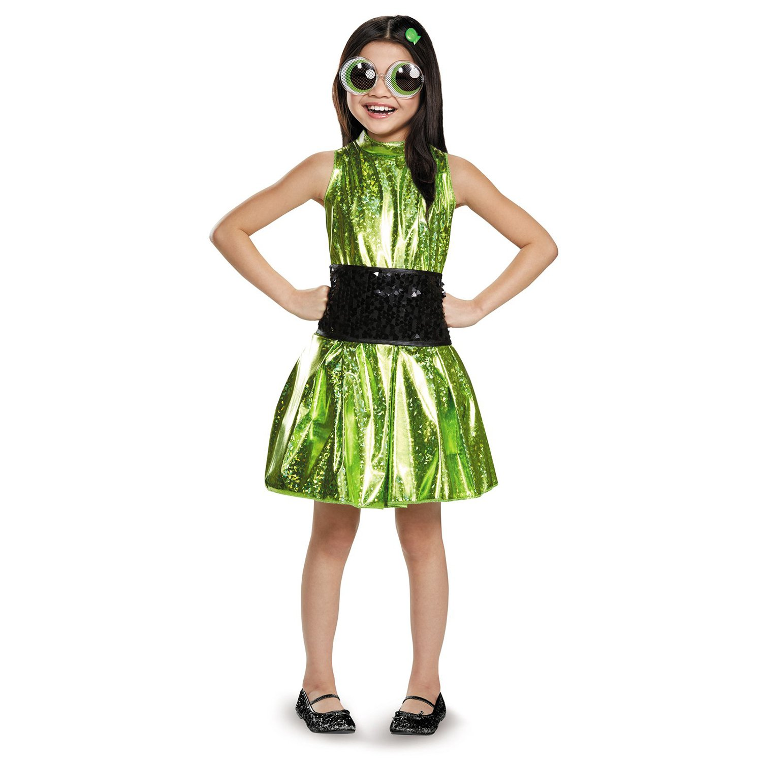 Small 46X Disguise Buttercup Deluxe Powerpuff Girls Cartoon Network Costume, XLarge 1416