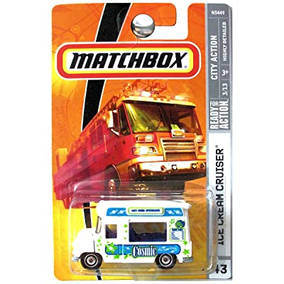 Matchbox 2009 #43 Ice Cream Cruiser Truck 1:64 Scale: Toys & Games