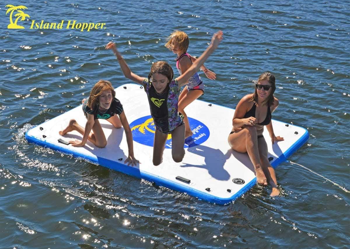 Amazon.com: Island Hopper Island Buddy - Plataforma inflable ...