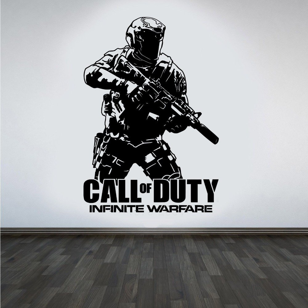 Call Of Duty Inspired Infinite Warfare Decal Wall Decor Sticker by The Decal Hub