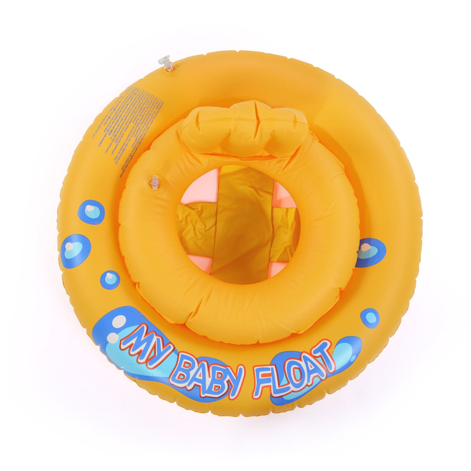 Baby Kids Swimming Seat Ring Water Inflatable Aid Trainer Toddler Float by Baby Bathing Seats
