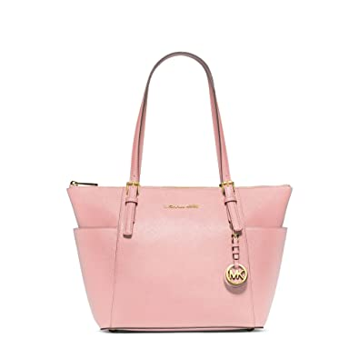 d3af81cb3f09 MICHAEL Michael Kors Jet Set East West Top Zip Tote (Blossom ...