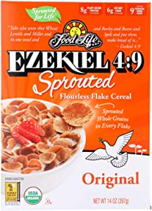 Food For Life Cereal,Og2,Ezek,Spgrn,Or 14 Oz (Pack Of 6)