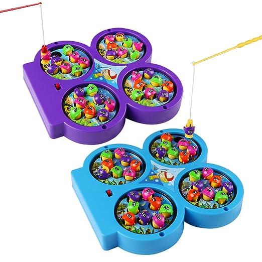 12 opinioni per Gioco Pesca Magnetica Giochi Elettronici Giocattoli Musicali per Bambini 3 4