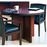 Amazoncom MLNCMTSBCRY Mayline Corsica Conference Series - Round conference table for 6