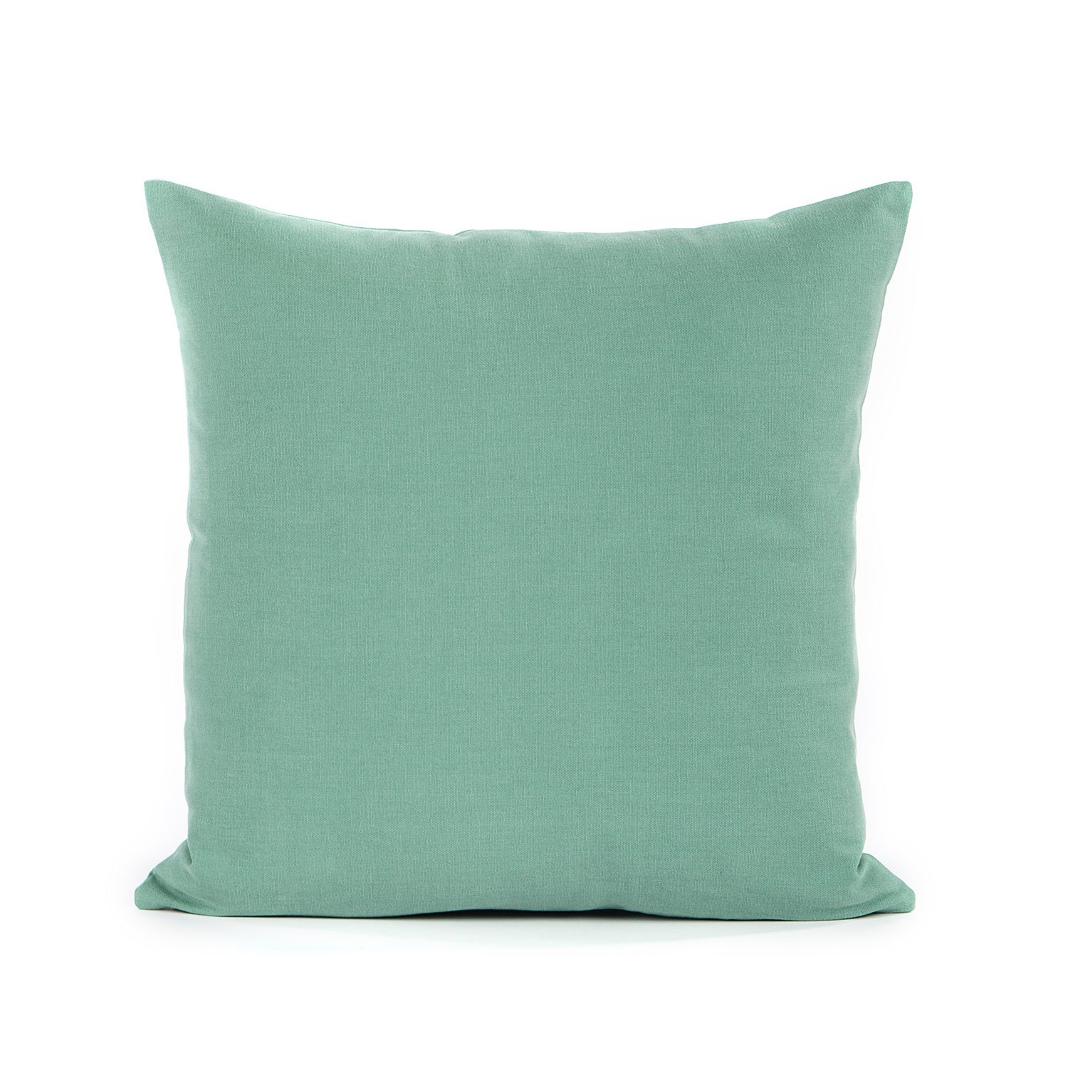 "16"" X 16"" Seafoam Green Throw Pillow Cover"