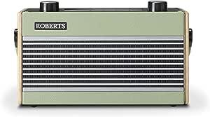Roberts Rambler BT Retro/Digital Portable Bluetooth Radio with DAB/DAB+/FM RDS Wavebands - Green