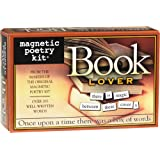 Magnetic Poetry - Book Lover Kit - Words for Refrigerator - Write Poems and Letters on the Fridge - Made in the USA