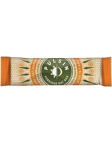 pulsin Porridge cerrojo 40 g – Naranja Chocolate Chip – libre de leche, libre de