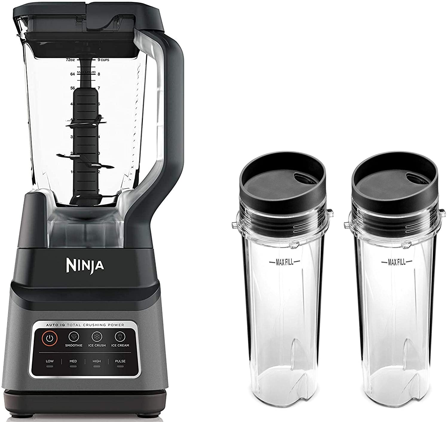 Ninja BN701 Professional Plus Blender with Auto-iQ, and 64 oz. max liquid capacity Total Crushing Pitcher