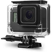 Taslar Go Pro Underwater Housing Waterproof Case Diving Protective Shell Accessories Cover with Bracket for GoPro Hero7 Black 2018, Hero 6, Hero 5 Action Camera