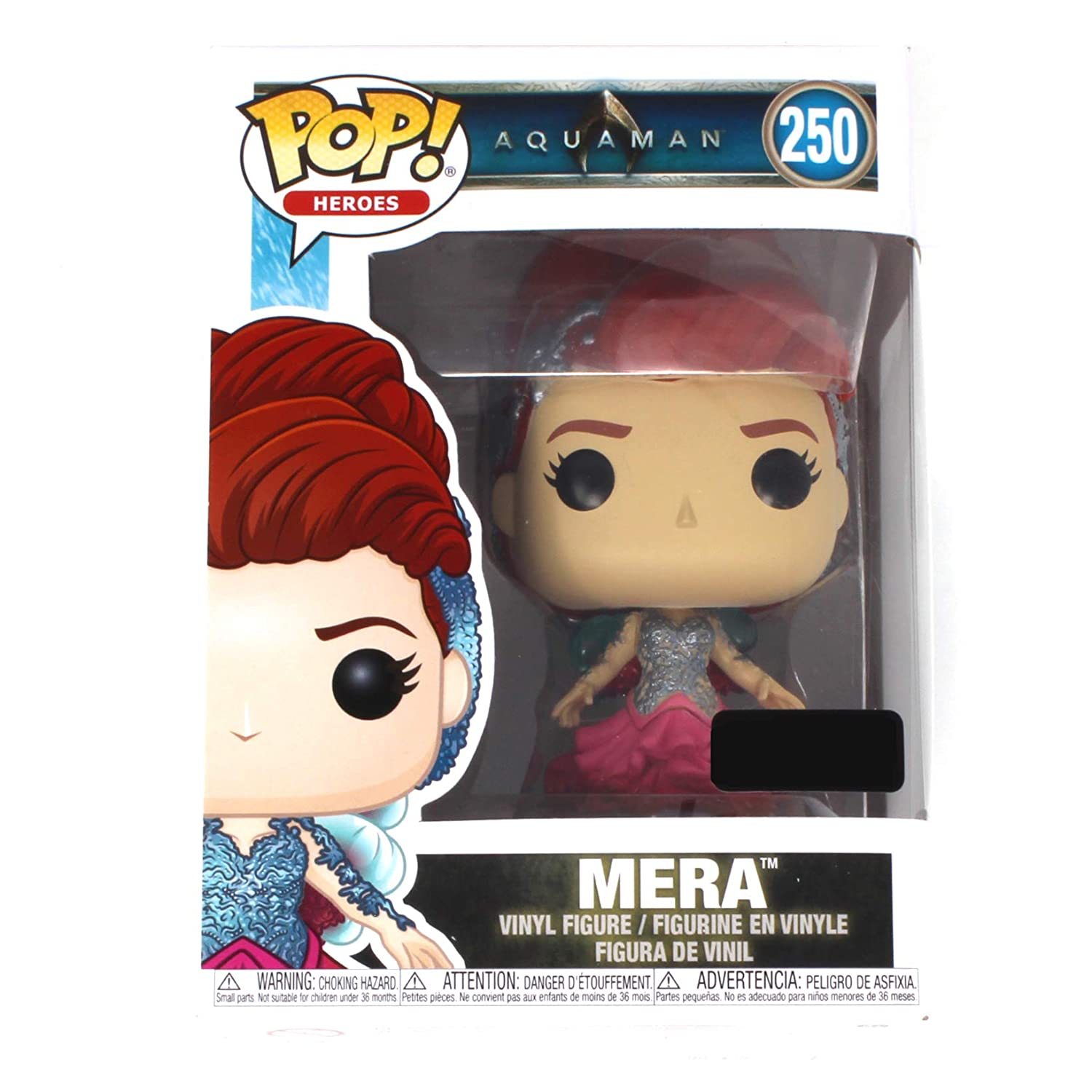 Funko POP! Movies: DC Aquaman- Mera Toy Figure (Game Stop Exclusive) #250