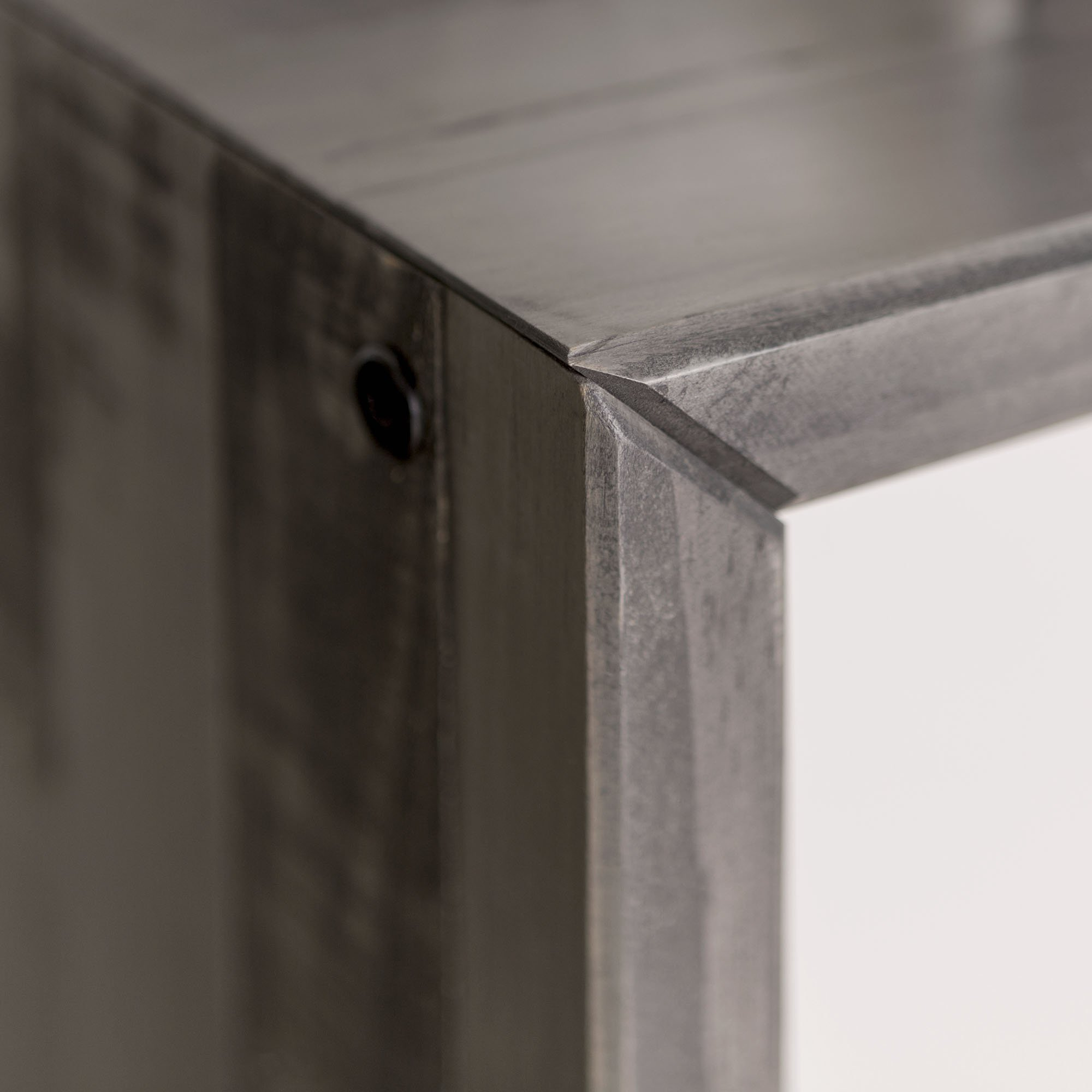 WE Furniture Reclaimed Wood Entry Table in Gray - 48'' by WE Furniture (Image #4)
