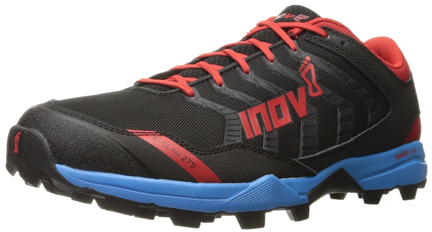Inov-8 X-Claw聶 275 Trail Runner B01B26ONYY 11 M US|Black/Blue/Red