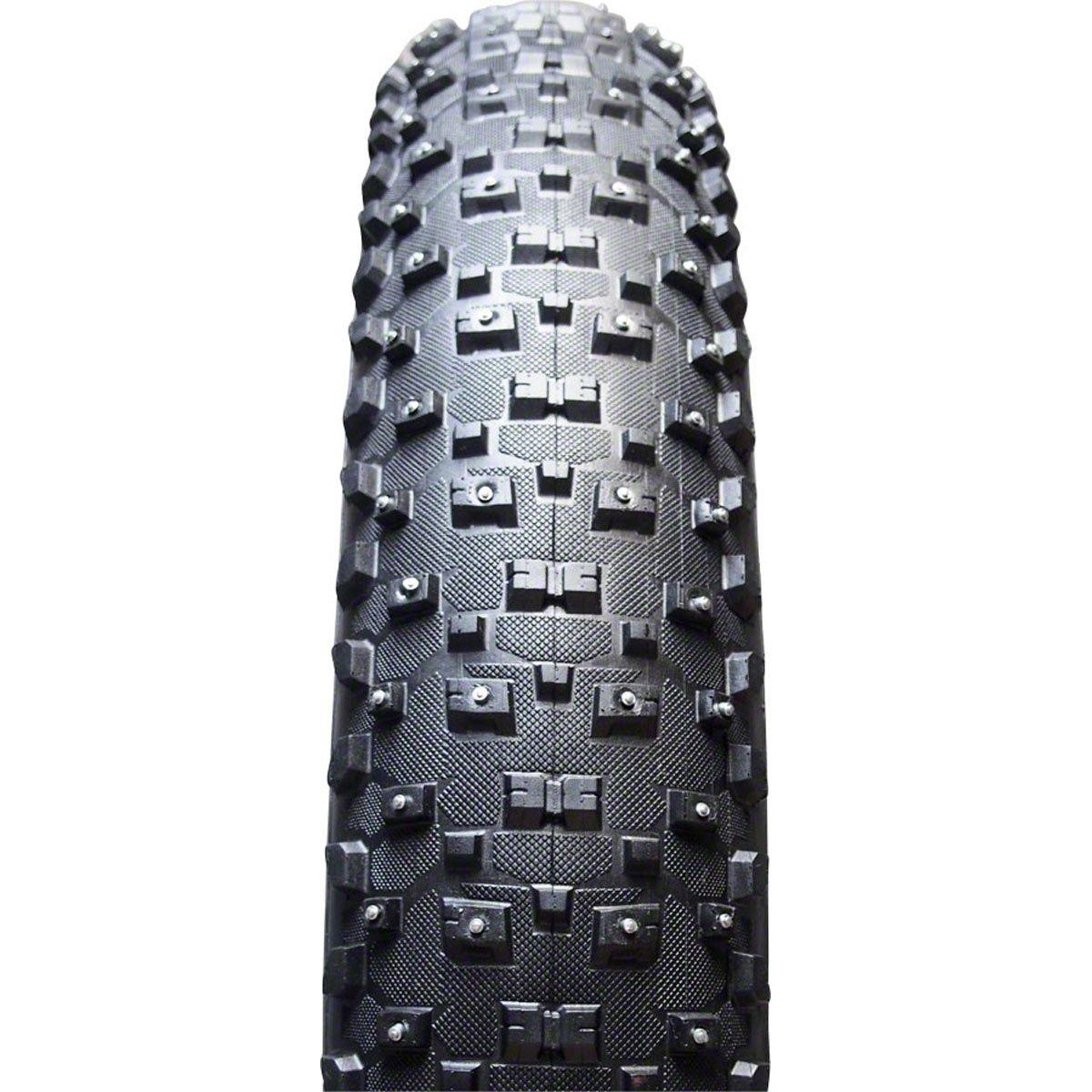 Vee Rubber Snowshoe XLスタッズFolding Bead 120tpi冬Fat Bike Tire B00M2LME1S26x4.8