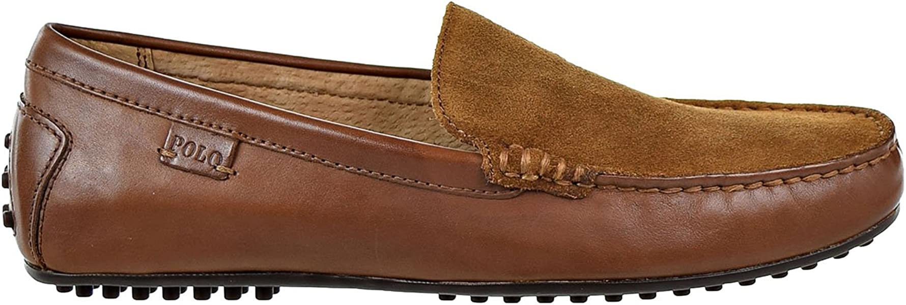 edb1af91ca6 Polo Ralph Lauren Woodley-SO-Driver Mens Loafers Brown 803641998-004 (7.5