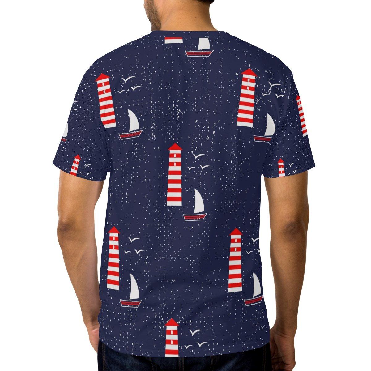 T shirts Heren: kleding Dragon Sailboat T Shirt Kleding en