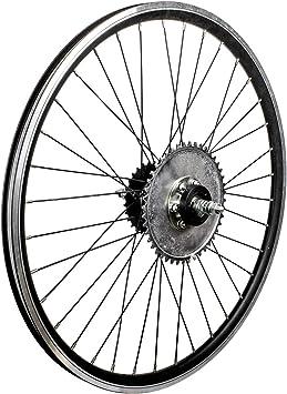 Brilliant Kit de Rueda Trasera y Eje de Rueda Libre para Bicicletas motorizadas de 26
