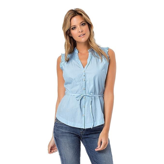 Gaastra-Gaastra ringtale-Blusa para mujer, color azul: Amazon.es: Ropa y accesorios
