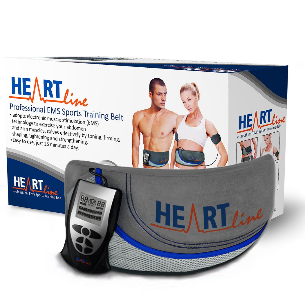 783bb89c1f Heartline Ab Belt Professional Advanced Unisex Toning Belt
