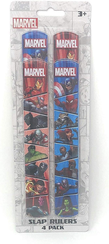 Marvel Slap Rulers 4 Pack: Amazon.es: Juguetes y juegos