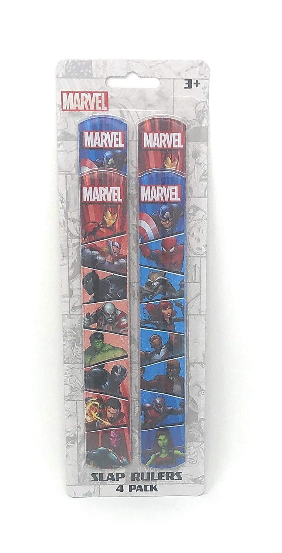 Reglas de Marvel Slap 4 unidades: Amazon.es: Juguetes y juegos