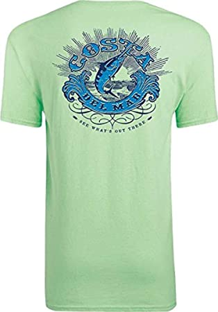 36f5003ac8 Amazon.com  Costa Del Mar Classic Short Sleeve T-Shirt  Clothing