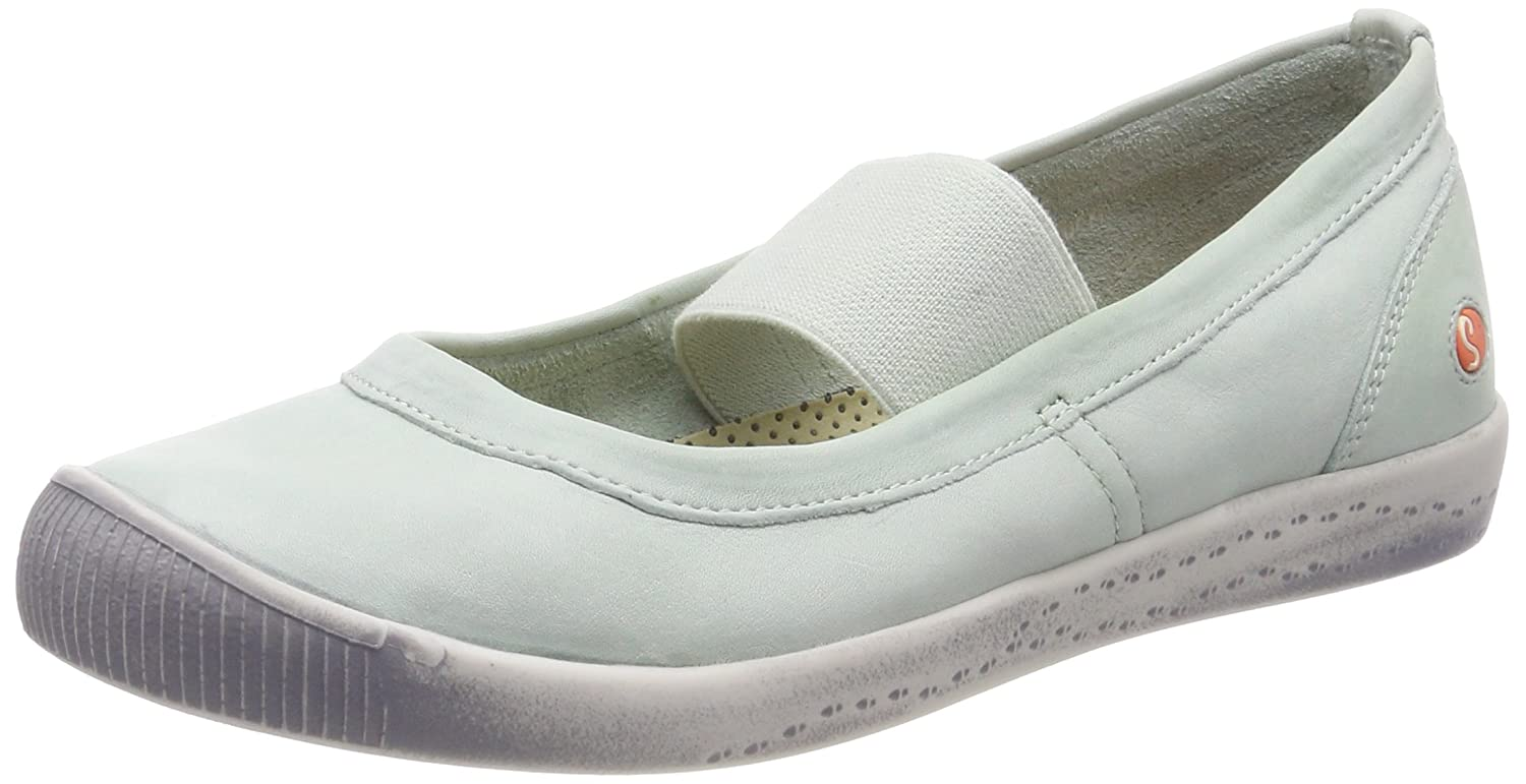 Softinos Ballerinas Damen Ion446sof Washed Geschlossene Ballerinas Softinos 0d038c