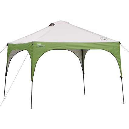 Amazon.com Coleman 10 x 10 Canopy Tent with Instant Setup   Sun Shelter Sets Up in 3 Minutes Sports u0026 Outdoors  sc 1 st  Amazon.com & Amazon.com: Coleman 10 x 10 Canopy Tent with Instant Setup   Sun ...
