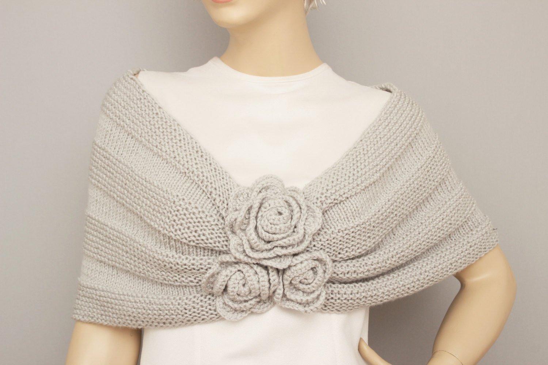 Amazon Shawl Crochet Shawl Cowl Shawl Bridal Gift Shawl