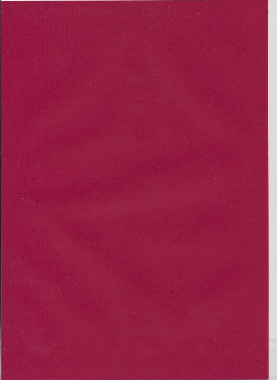 Artoz Papier AG - Perga pastell Transparent Papier A4 5er-Pack kirschrot