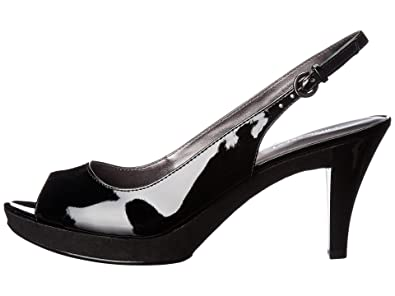 ec27f81a434 Nine West Women s Karoo Black Synthetic 1 Pump 6.5 M