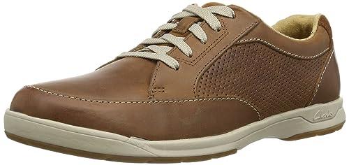 Clarks Stafford Park Schuhe braun tan