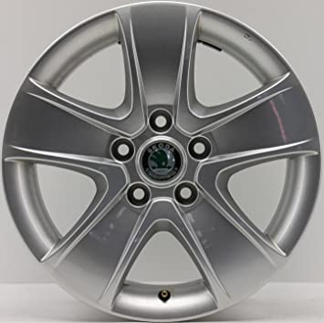 Original Skoda Octavia Alloy Wheels 6,5x16 ET50 1Z0601025T 16 Inch 30003: Amazon.co.uk: Car & Motorbike