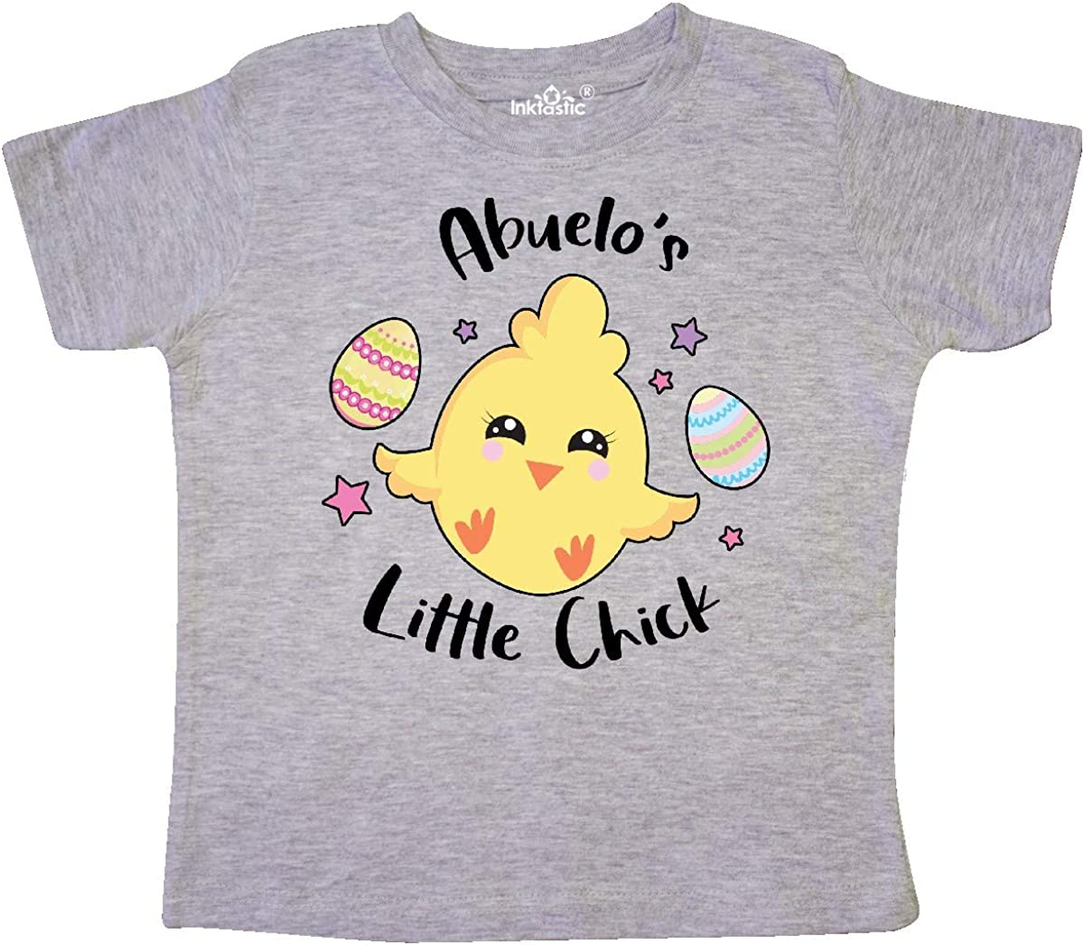 inktastic Happy Easter Abuelos Little Chick Toddler T-Shirt